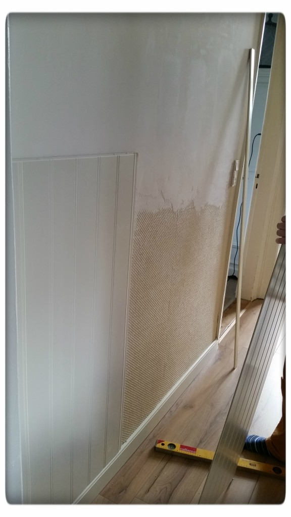 Pudsning og opsætning af paneler